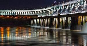Ingresso para Iluminação da Barragem de Itaipu